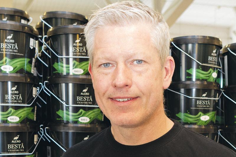 Hallå Anders Ödman, fasadexpert på Colorama Ödmans